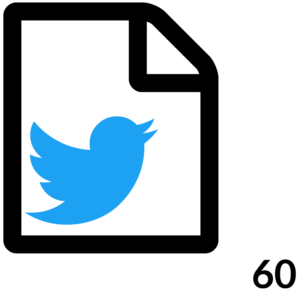 60 Twitter Posts Month 12 Months